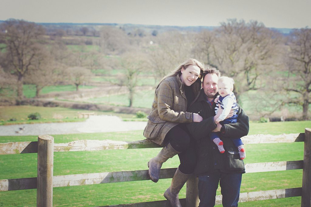 Richard and Claire Down, owners at Upton Lakes